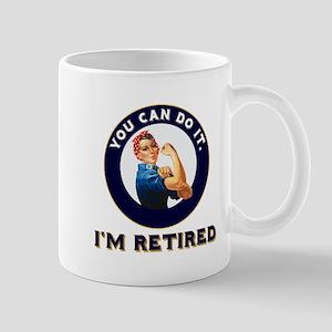 Rosie Retired Riveter 11 oz Ceramic Mug