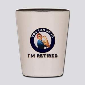 Rosie Retired Riveter Shot Glass