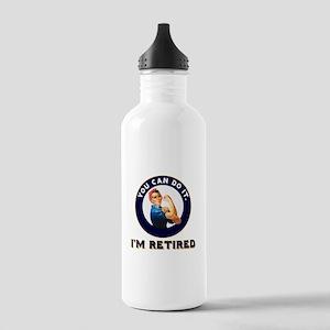Rosie Retired Riveter Stainless Water Bottle 1.0L