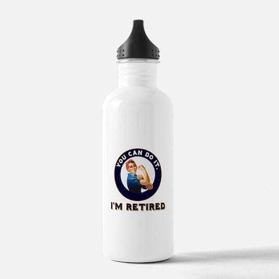 Rosie Retired Riveter Water Bottle