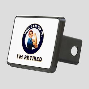 Rosie Retired Riveter Rectangular Hitch Cover