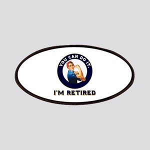 Rosie Retired Riveter Patch