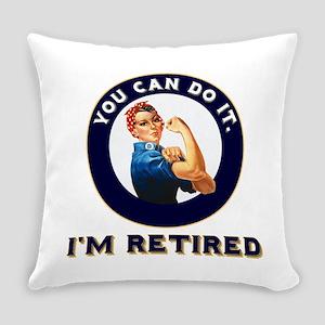 Rosie Retired Riveter Everyday Pillow