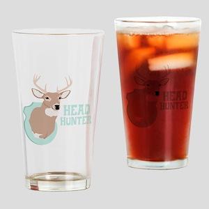 HEAD HUNTER Drinking Glass
