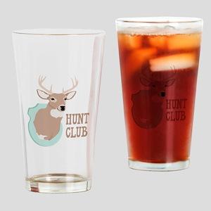 HUNT CLUB Drinking Glass