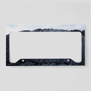 lava patterns License Plate Holder