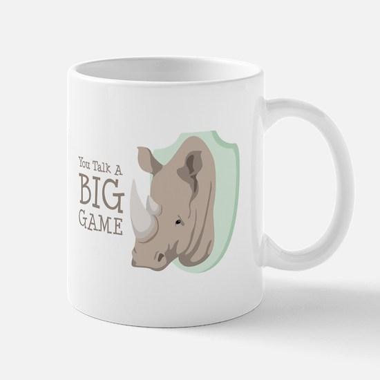 You Talk A BIG GAME Mugs