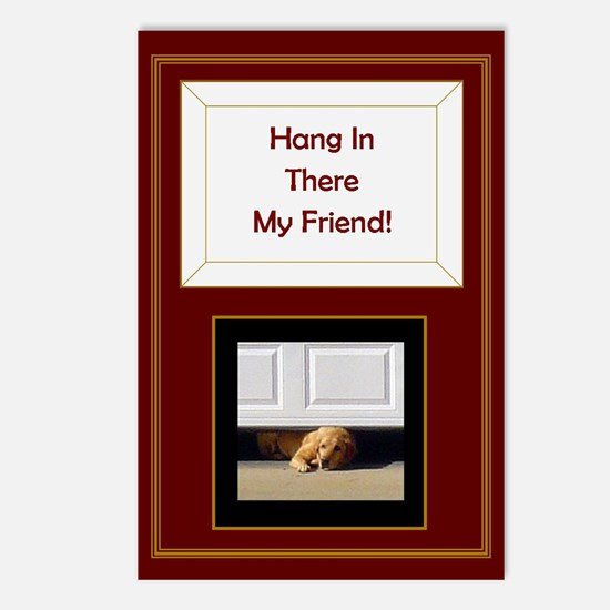 Hang In There My Friend Postcards (package Of 8)