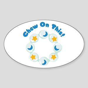 Chew On This! Sticker
