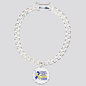 Blessing 4 Daughter DS Charm Bracelet, One Charm