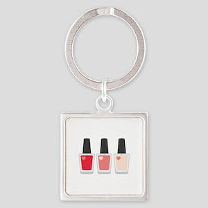 Nail Polish Manicure Keychains