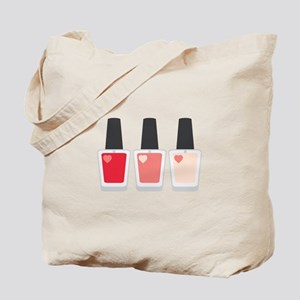 Nail Polish Manicure Tote Bag