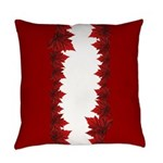 Canada Maple Leaf Souvenir Everyday Pillow