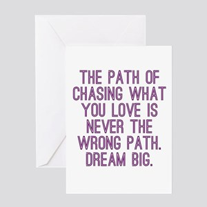 The Path Greeting Cards