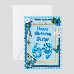 69th Birthday For Sister With A Scrapbooking Theme