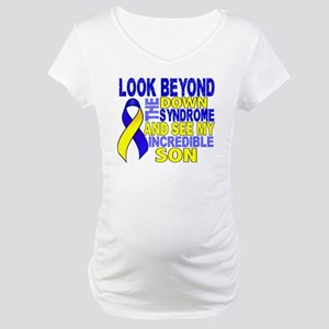 DS Look Beyond 2 Son Maternity T-Shirt
