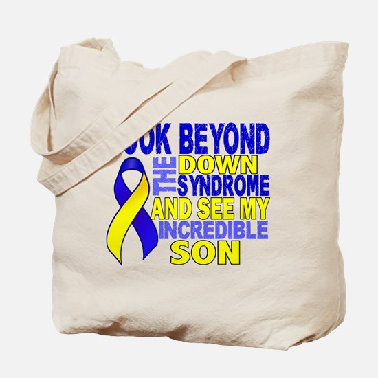 DS Look Beyond 2 Son Tote Bag