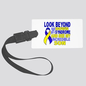 DS Look Beyond 2 Son Large Luggage Tag