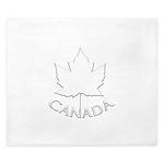 Canada Maple Leaf Souvenir King Duvet