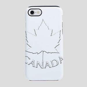 Canada Maple Leaf Souvenir iPhone 8/7 Tough Case