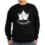 Canada Maple Leaf Souvenir Sweatshirt (dark)