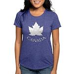 Canada Maple Leaf Souveni Womens Tri-blend T-Shirt