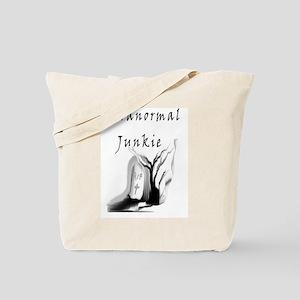 Paranormal Junkie Tote Bag