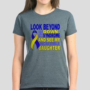 DS Look Beyond 2 Daughter Women's Dark T-Shirt