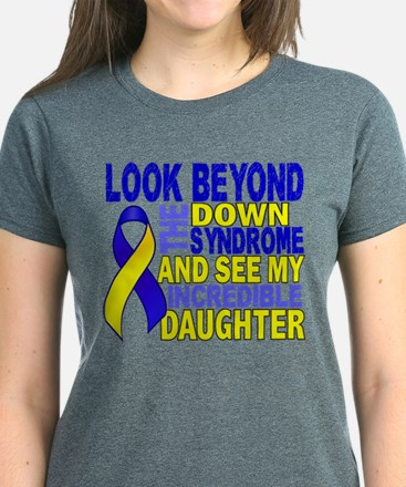DS Look Beyond 2 Daughter Women's Dark T-Shirt
