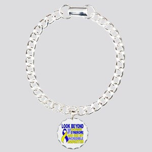 DS Look Beyond 2 Daughte Charm Bracelet, One Charm