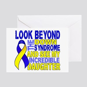 DS Look Beyond 2 Daughter Greeting Card