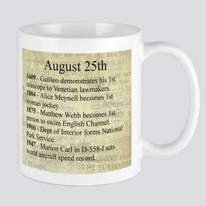 August 25th Mugs