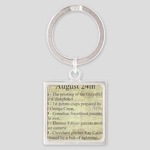 August 24th Keychains