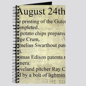 August 24th Journal