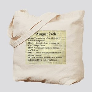 August 24th Tote Bag