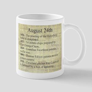 August 24th Mugs