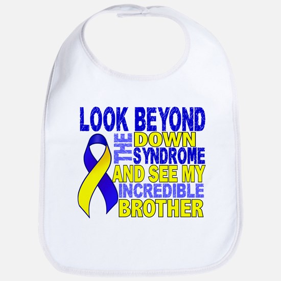 DS Look Beyond 2 Brother Bib