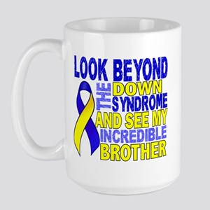 DS Look Beyond 2 Brother Large Mug