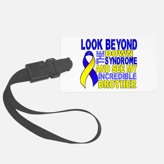 DS Look Beyond 2 Brother Luggage Tag