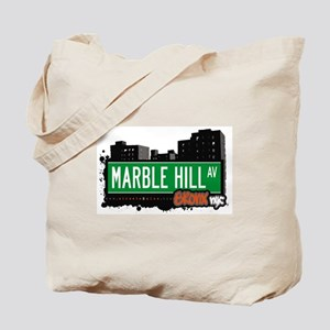 Marble Hill Av, Bronx, NYC Tote Bag