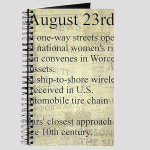 August 23rd Journal