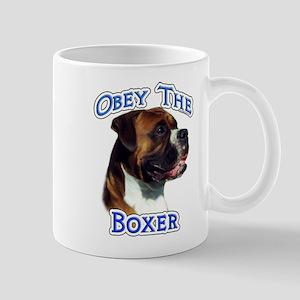 Boxer Obey Mug