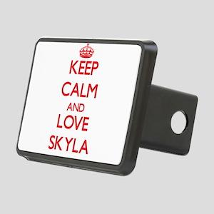 Keep Calm and Love Skyla Hitch Cover