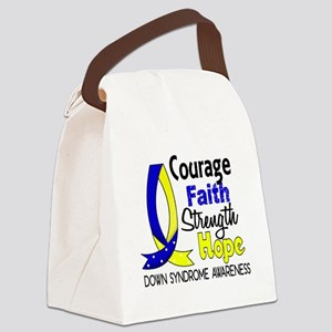 DS Courage Faith 1 Canvas Lunch Bag