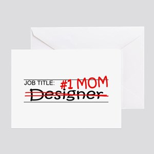 Job Mom Designer Greeting Card