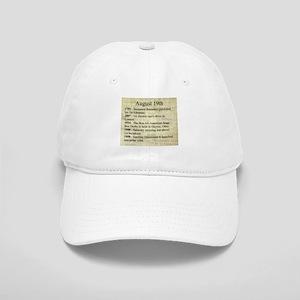 August 19th Baseball Cap