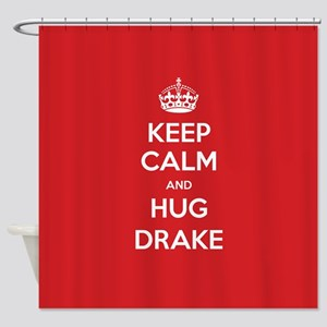 Hug Drake Shower Curtain
