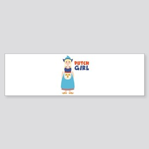 DUTCH GIRL Bumper Sticker
