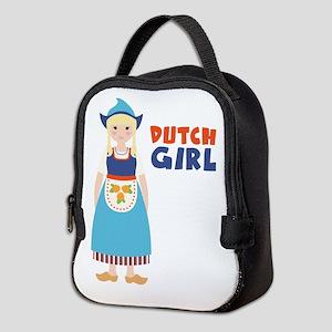 DUTCH GIRL Neoprene Lunch Bag