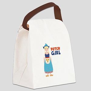 DUTCH GIRL Canvas Lunch Bag
